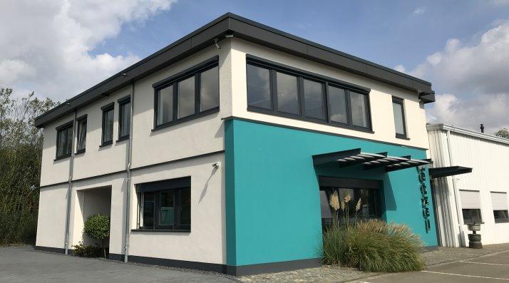 Das Firmengebäude der Wetzel Transporte GmbH heute. Stand 2018