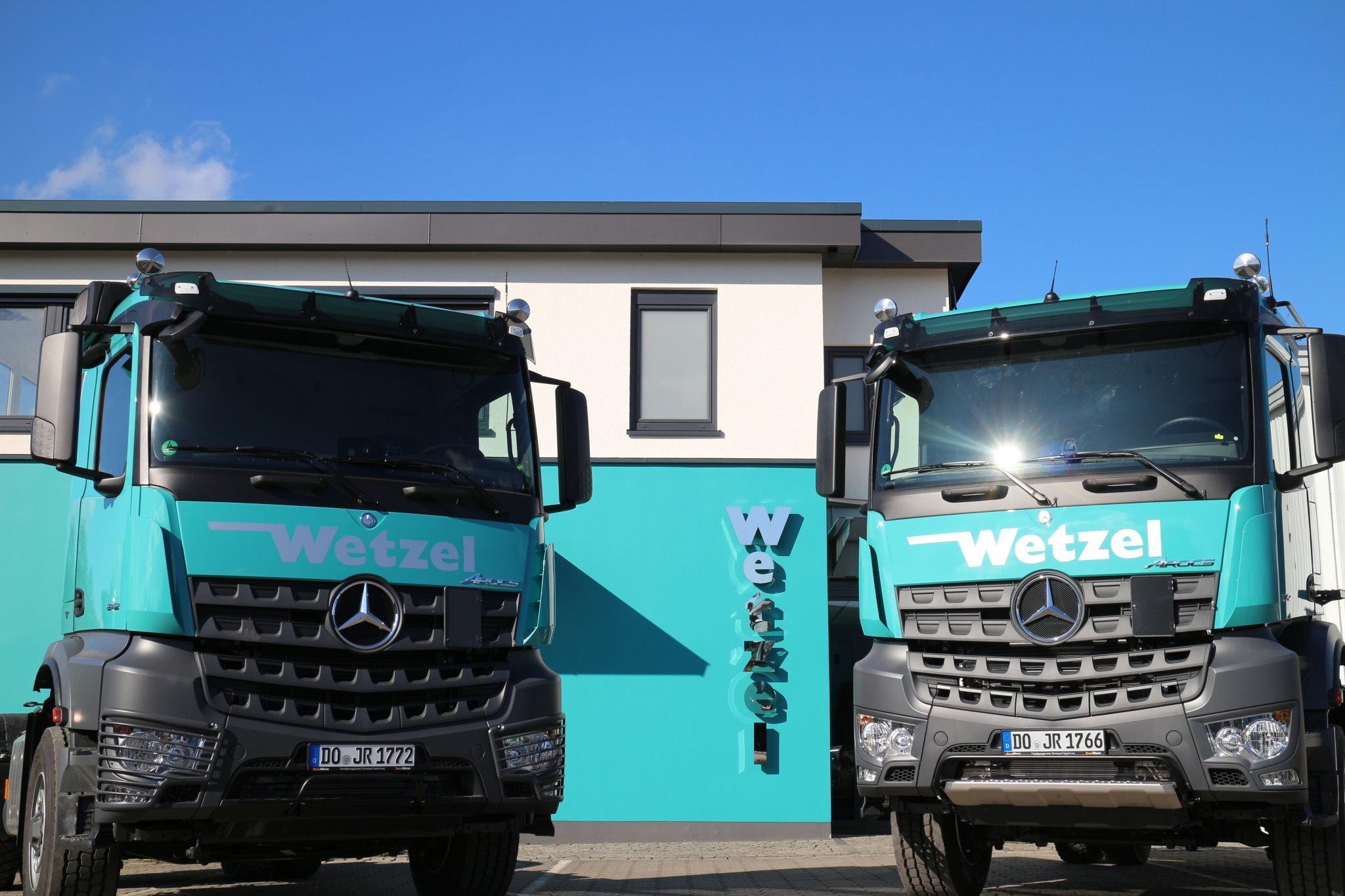 Wetzel Transporte GmbH Dortmund - Baustoffe