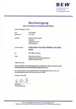 Sachkundezertifikat über die Probenahme von festen Abfällen (Sven Strenger)